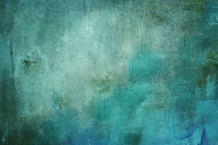 Blue painting background. Or texture Stock Photos