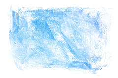 Blue Painting Texture Stock Image