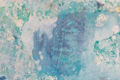 Blue painting texture for your effective new design. High resolution photo stock photos