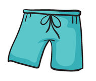 A blue pant Stock Images