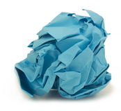 Blue paper Royalty Free Stock Photos