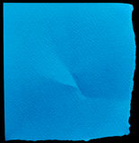 Blue paper Stock Image