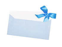 Blue paper Stock Images