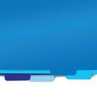 Blue paper folder files. Blue set of paper folder files Royalty Free Stock Photos