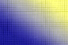 Blue paper grid sheet Royalty Free Stock Photo