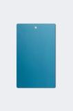 Blue Paper Hang Tag Royalty Free Stock Photo