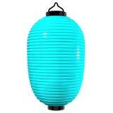Blue Paper Lantern Royalty Free Stock Images