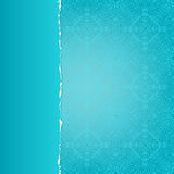 Blue paper with a pattern Stock Photo