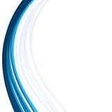 Blue paper ribbon abstract isolated background. Blue paper ribbon abstract isolated border background Royalty Free Stock Images