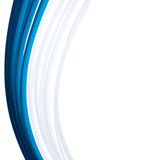 Blue paper ribbon isolated abstract background. Blue paper ribbon isolated abstract isolated background Royalty Free Stock Photo