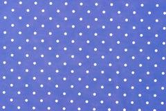 Blue paper seamless. Dots pattern stock photography