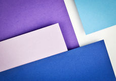 Blue paper slanting over each other. Abstract background blue paper slanting over each other Royalty Free Stock Photography