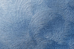 Blue paper texture. Can use as background Royalty Free Stock Photography