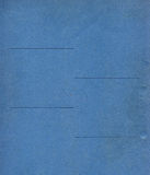 Blue paper texture background Stock Photography