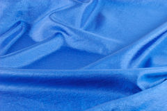 Blue parachute cloth alpha Stock Photos