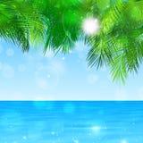 Blue Paradise Stock Image