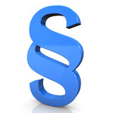Blue Paragraph Royalty Free Stock Photo