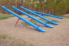 Blue Park Equipment Royalty Free Stock Images