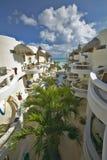 Blue Parrot Inn hotel in Playa del Carmen on Caribbean Sea, Yucatan Peninsula, Mexico Stock Photo