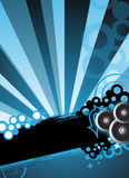 Blue party design concept Stock Photo
