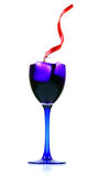 Blue party drink Royalty Free Stock Images