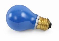 Blue Party Light Bulb Stock Photos