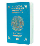 Blue passport isolated Royalty Free Stock Photos