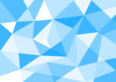 Blue pastel color polygon background. For background royalty free illustration