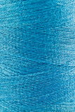 Blue pastel thread in spool Stock Photo