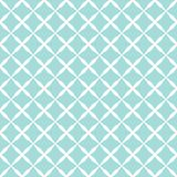 Blue pattern. Vector illustration of seamless blue grid pattern Royalty Free Stock Photos