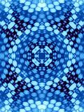 Blue pattern. Background illustration of a blue wavy pattern Stock Photos