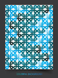 Blue pattern abstract background Royalty Free Stock Image