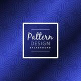 Blue pattern abstract background vector design illustration Royalty Free Stock Photos