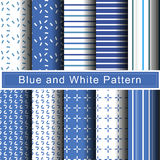 Blue pattern abstract background vector Stock Photo