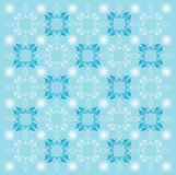 Blue Pattern Background. A pretty computer generated pattern of whites and medium blues, suitable for a nice background stock illustration