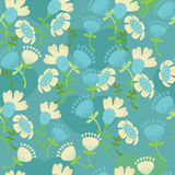 Blue pattern Royalty Free Stock Photo