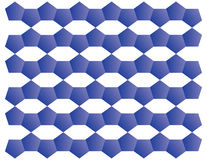 Blue Pattern Stock Image
