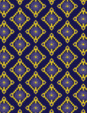 Blue pattern. Geometric ethnic Seamless pattern vector design for background or wallpaper Royalty Free Stock Photo