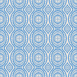 Blue pattern with petals Stock Image