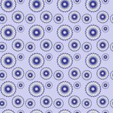 Blue pattern. For printing on paper, paper_bag, textile, cloth Royalty Free Stock Images