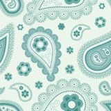 Blue Pattern. Seamless trendy background—exquisite vector pattern Stock Photos