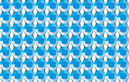 Blue pattern series Royalty Free Stock Photos