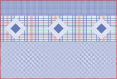 Blue pattern series Royalty Free Stock Image