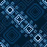 Blue pattern from squares Stock Photo