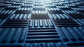 Blue pattern surface Stock Images