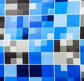 Blue, Pattern, Textile, Design stock image