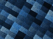 Blue, Pattern, Textile, Line stock photography