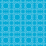 Blue pattern Vector illustration Royalty Free Stock Photos