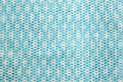 Blue patterned fabric. Royalty Free Stock Image