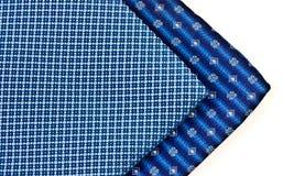 patterned silk neckties Stock Photo